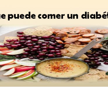 Las personas que sufren de diabetes deben saber Qué puede comer un diabético y cuidar su alimentación rigurosamente. Hay una serie de alimentos.