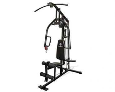 maquinas de gimnasio casera, la maquina multigimnasio es ideal para trabajar las zonas de la espalda y hombros.
