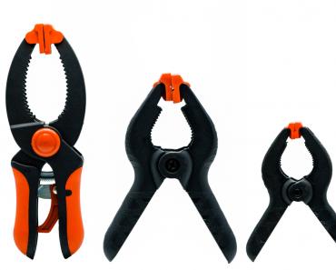 herramientas para sujetar piezas pequeñas