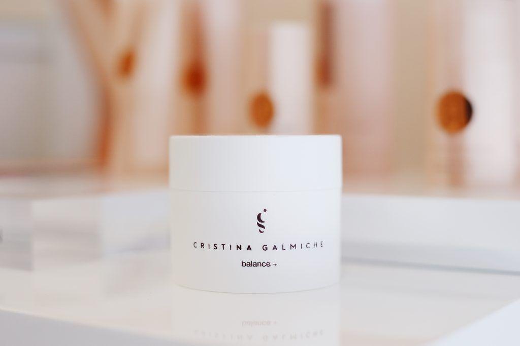 Balance +; la nueva crema creada por Cristina Galmiche