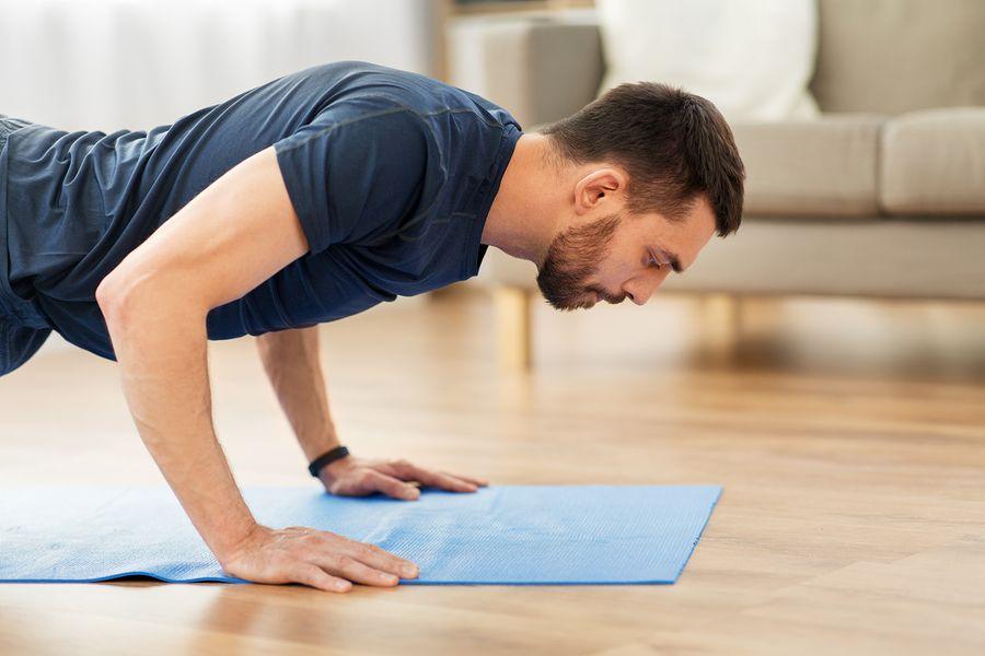Cinco ejercicios para mantenerse saludable durante la cuarentena