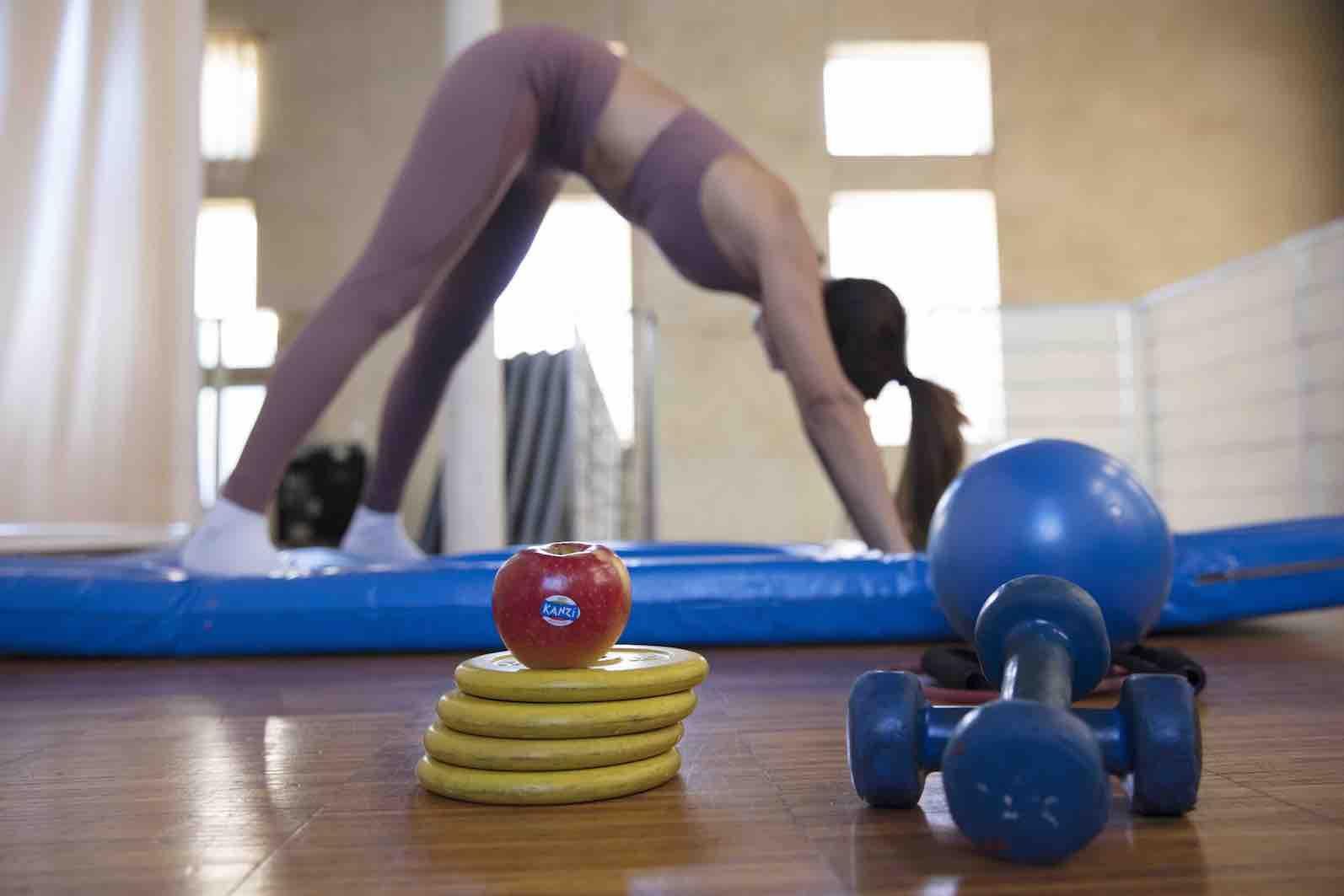 Consejos saludables de Manzanas Kanzi para llevar una vida fitness