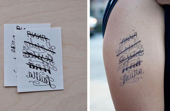 como colocar tatuajes temporales