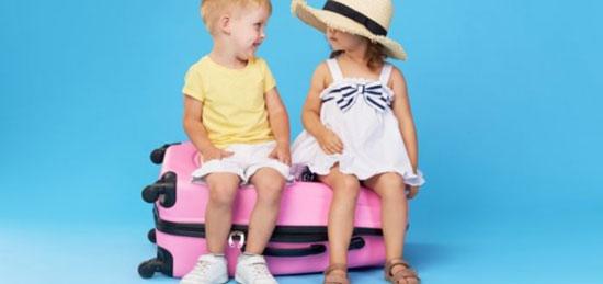 Trucos para preparar la maleta del niño viajero